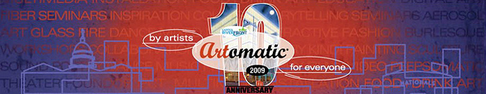 Artomatic 10th Anniversary Banner